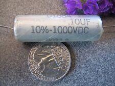 SPRAGUE MIL-SPEC  CQ05A1KG104K3  0.1 uF 1000 VDC  VINTAGE CAPACITOR