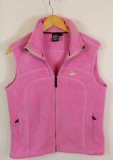 Womens Lowe Alpine Polartec Fleece Bodywarmer Gilet Medium Pink Made In EU
