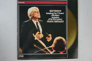 Beethoven Symph 3 Eroica Frans Brüggen Orchestra of the 18th Century 1Disc LD6