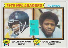 1979 Topps #3 Rushing Leaders/Earl Campbell/Walter Payton NM Near/Mint