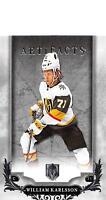 2018-19 Upper Deck Artifacts Hockey Cards Pick From List (Rookies, Legends, SPs)