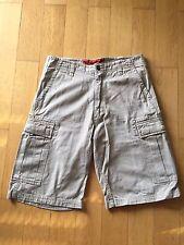 Freeman T. Porter Cargo Shorts Denim Beige Größe 30