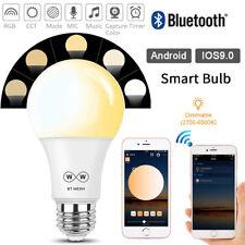 E27 LED Smart Light Bulb 4.5W Diammable Equivalent For Alexa Echo Google Home UK