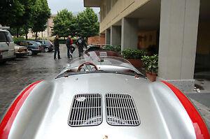 Porsche 550 Spyder Half tonneau in Alloy