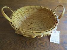 NWT Older BASKETVILLE Curly Split Ash Basket Vintage