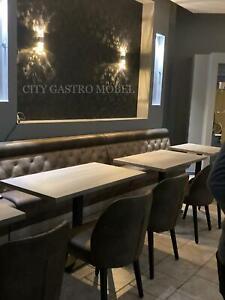 Dinerbank nach maß Gastro Einrichtung Lounge Sitzbank 100cm Bar Lounge Sofa Sitz