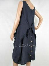 Vestiti da donna lunghezza al ginocchio in lino