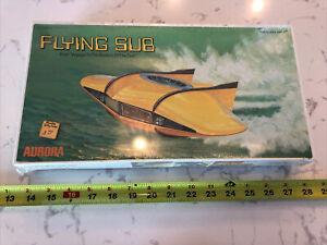 VTG Aurora 1975 The Flying Sub Toy Model KIT NO. 254 - RARE!!!