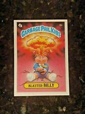 1985 Garbage Pail Kids Stickers #8B BLASTED BILLY....NM-MT