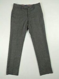 "Incotex Gray Wool ""Pattern 30"" pants Men's 46 Slim fit"