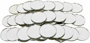 Round Shape Craft Mirror Home Décor 120 Pcs Real Glass Mosaic Mirror COMMR07-A