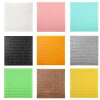 Self-Adhesive 3D PE Foam Brick Home Wall Sticker Wallpaper Panels Decor K
