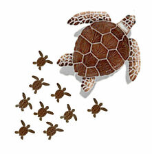 "Turtle 22"" Loggerhead Group Ceramic Swimming Pool Mosaic Wall Shower Bar Deck"