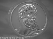 JOHN PINCHES GREAT WORKS OF ART STERLING SILVER MEDALLION