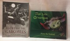 2 Kids' bks Night of the Gargoyles & Manu the Seabird Hawaii The Little Greenies