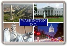 FRIDGE MAGNET - WASHINGTON DC - Large - USA TOURIST