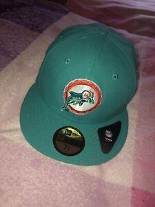 new era cap Miami Dolphins 7 3/8 rar