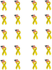 Support Our Troops Ribbon Waterslide Nail Decals/Nail Art
