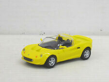 Lotus Elite offen in gelb, ohne OVP, Hongwell/Cararama, 1:43