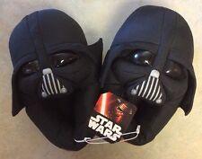NWT Disney Star Wars Darth Vader ToddlersYouth Black Slippers LM 13-3 Halloween