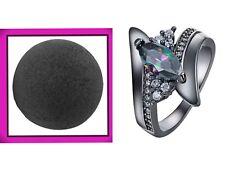 Black Bombshell Ring Inside 4.5 Oz Diamond Ring Awesome Black Usa Seller Fast S
