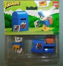 LEGO FABULAND réf 3786 . BUZZY BULLDOG FACTEUR. ANCIEN JOUET NEUF DE 1982 SCELLE