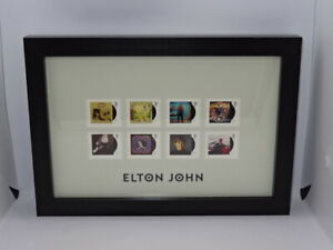 Elton John Royal Mail® Album Covers Framed Collectable Stamps