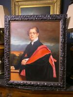 Oil on Canvas Portrait Painting of a Gentleman