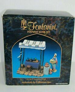 In Box Fontanini 5 Pc PERFUME KIOSK Nativity Village Accessories 55512 Italy
