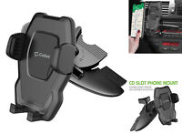 Car CD Slot Phone Mount Holder with 360 Degree Cradle Rotation for All Phones