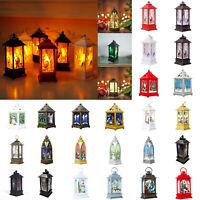 Lantern Candlestick Candle Holder Tea Light Christmas Wedding Home LED Decor