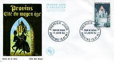 FRANCE FDC - 508 1392A 1 TOUR DE CESAR A PROVINS 13 6 1964