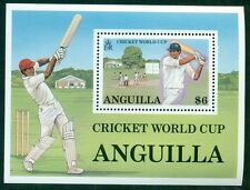 ANGUILLA SCOTT # 744, CRICKET WORLD CUP, MINT, OG, NH, GREAT PRICE!