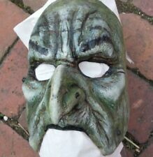 Mask  1/2  Witch Latex Theatre Halloween NEW Into The Woods