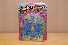 Rare SHOPKINS Season 1 One 12 PACK - Green Cool Cube, Split Milk, Candy Kisses