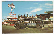 Bus Omnibus Tourism San Francisco California postcard