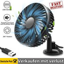 12V Ventilator Lüfter für Auto PKW KFZ Saugnapf Befestigung Windmaschine Auto