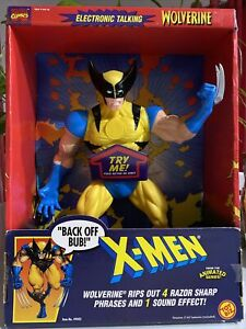 """NEW X-men Marvel 15"""" electronic Talking Wolverine Action Figure FREE SHIPPING!"""
