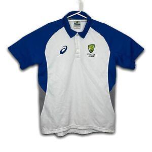 ASICS Cricket Australia Mens Polo Shirt Size M
