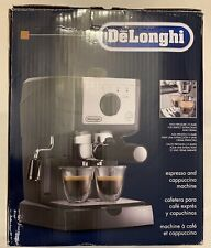 Espresso Cappuccino Coffee Maker - Delonghi High Pressure 15 bar - Black