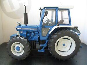UNIVERSAL HOBBIES - FORD 7610 GEN. III - 4WD FOUR WHEEL DRIVE FARM TRACTOR  1/32