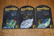 Fishing Lure Lot of 3 Booyah Covert Series 3/8oz. Spinnerbait Fishing Lures NIB