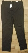 NEW Chicos The Ultimate Fit Black Pants Womens Size 1.5