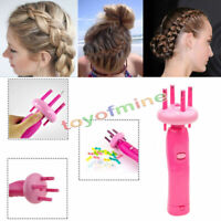 Electronic Hair Twist Braid Maker Hair braider dressing wrapper Device Protable