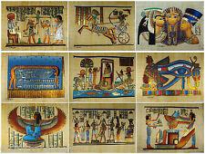 """Wholesale 20 Pcs Egyptian Original  Hand Painted  12""""x16"""" (30x40 CM)  Papyrus"""