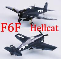 Easy Model 1/72 USAF F6F-5 Hellcat CVG-15 USS ESSEX 1944 Fighter Model #37299