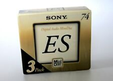 New/Factory Sealed.  1 x Sony ES 3 pack.  Collectable