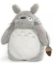 Studio Ghibli My Neighbor Totoro Gray Totoro 13 Inch Plush Backpack Bonus