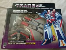 Transformers G1 Starscream Reissue