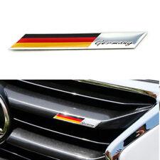 Aluminum Plate Germany Flag Emblem Badge For Car Front Grille Side Fender Trunk